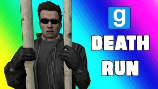Gmod Deathrun Funny Moments - Escaping Prison! (Garry