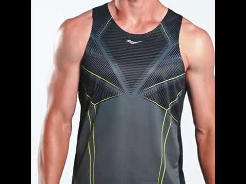 Functional running singlet Saucony By Saucony