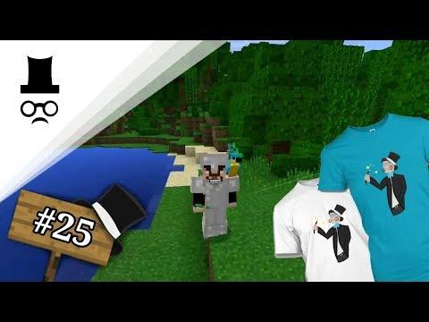 Minecraft Stream #25   MERCH!!!   Magician   CZ/SK