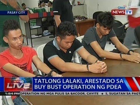 NTVL: Tatlong lalaki, arestado sa buy bust operation ng PDEA