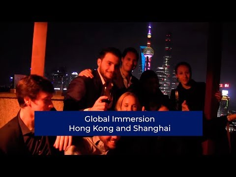 Global Immersion Field Trip Hong Kong and Shanghai | London