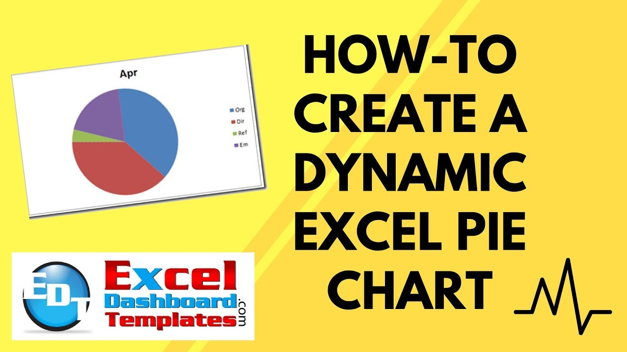 How to create a dynamic excel pie chart youtube how to create a dynamic excel pie chart geenschuldenfo Image collections