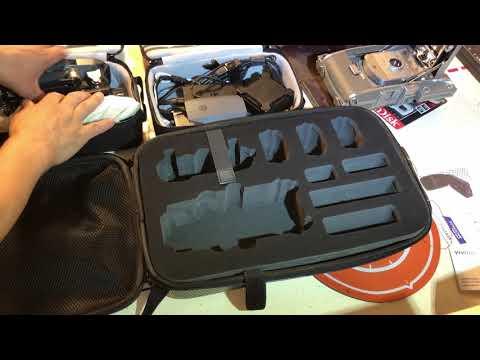 Vivitar Hardshell Backpack Case for DJI Mavic Pro VMP-001 (08-2018)