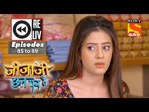 Weekly Reliv – Jijaji Chhat Per Hai – 7th May to 11th May 2018 – Episode 85 to 89