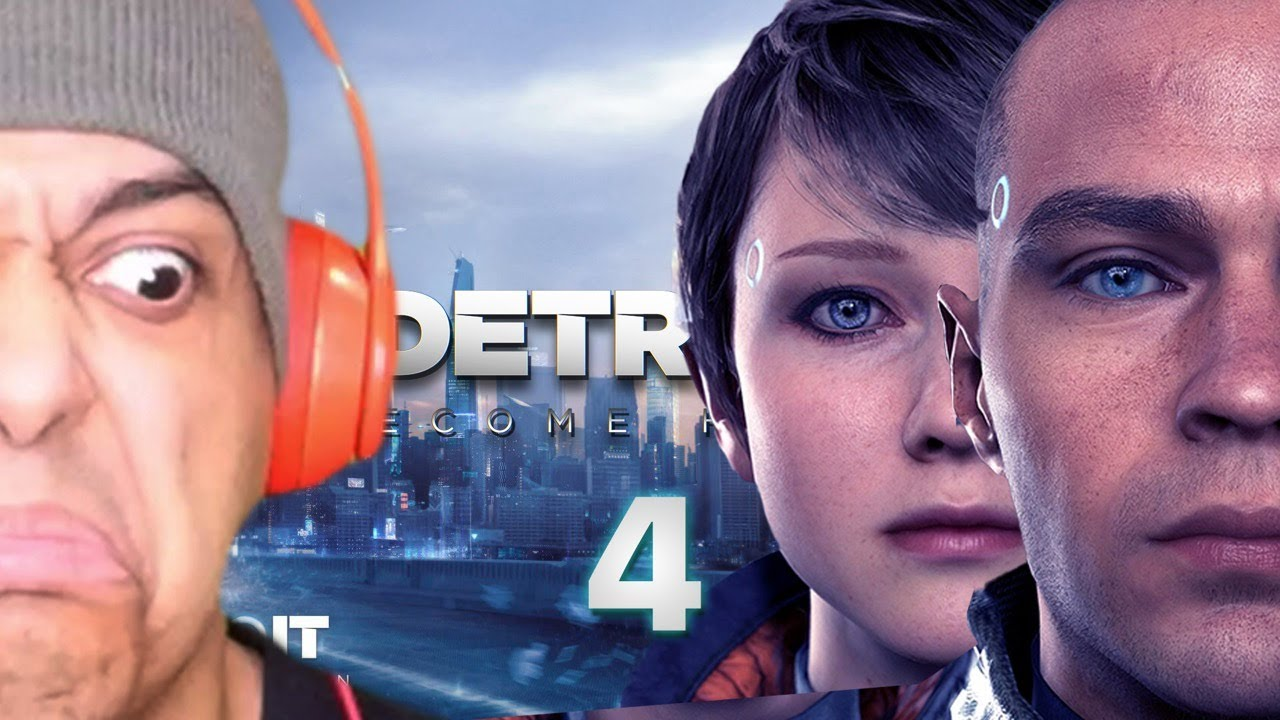 THE STRESS IS REAL! GRAB ALL THE POPCORN IN YOUR HOUSE! IT'S TIME! [DETROIT: BECOME HUMAN] [#04]