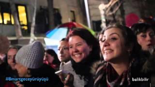 8 mart gece eylemi // ankara // 8 mart 2014