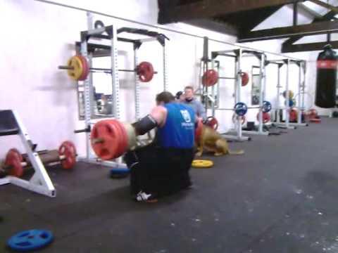 vytautas lalas 195kg log press