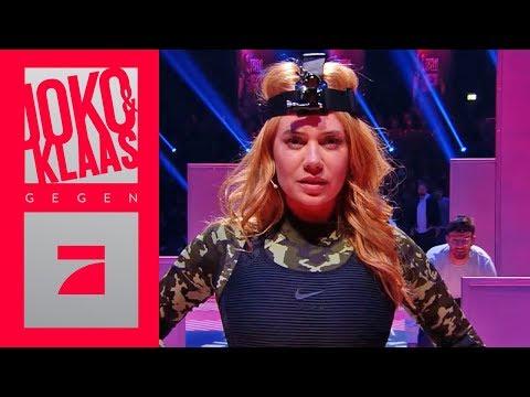 Sneaky Ninja - Palina Rojinski & Simon Gosejohann als Ninja   Spiel 6   Joko & Klaas gegen ProSieben