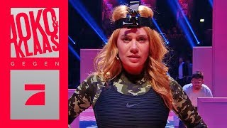 Sneaky Ninja - Palina Rojinski & Simon Gosejohann als Ninja | Spiel 6 | Joko & Klaas gegen ProSieben