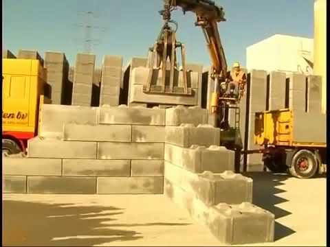 Legioblock Building walls with concrete blocks / TBP Thai Blocks ...
