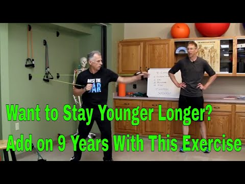 Want to Stay Younger Longer? Add On 9 Years With This Exercise According to Science