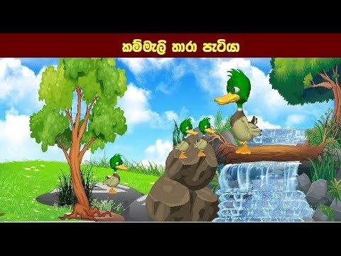 කම්මැලි තාරා පැටියා   Sinhala Cartoon   Children Story   Kids Story   Lama Katha   Short Story