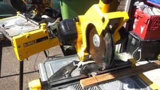 Dewalt Flip Saw - Chop Saw Table Saw 110v for sale