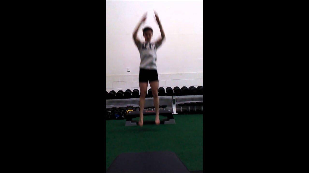 SAPTSTRENGTH depth drop to vertical jump - YouTube
