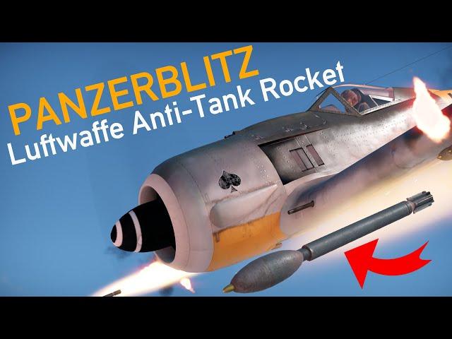 Secret Weapon? Panzerblitz: 1944 Luftwaffe Anti-Tank Rocket
