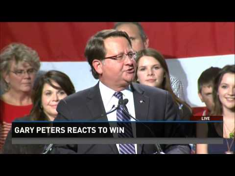 Michigan's Gary Peters gets key victory for Dems