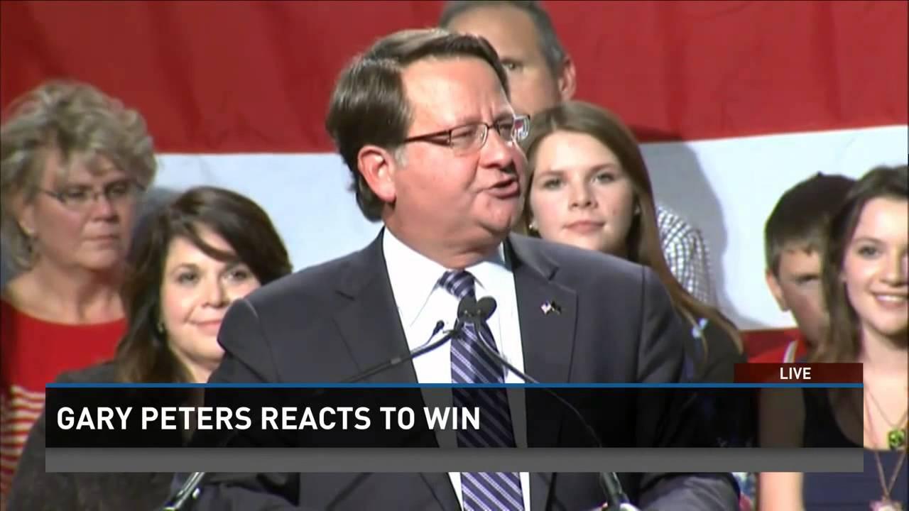 Democrat Gary Peters wins Michigan's Senate race