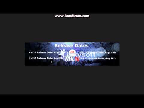 NHL 16: DEMO RELEASE DATE