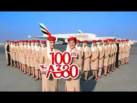 The facts you didn't know about Emirates 100th A380..!