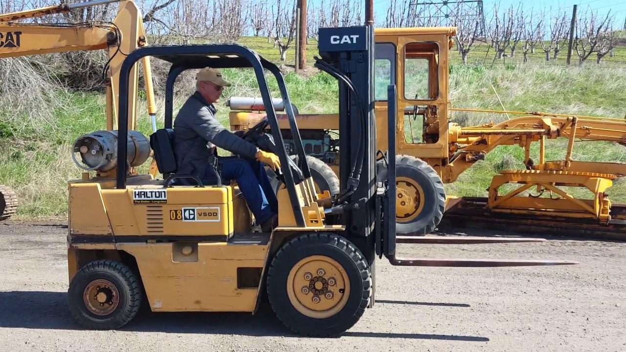 Caterpillar V50D Propane Forklift