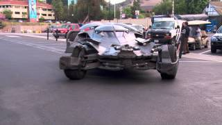 The Batman v Superman: Dawn of Justice new Batmobile is Here