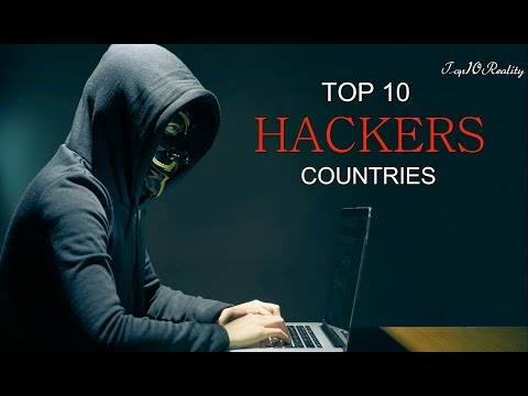 Top 10 Hacker Countries 2017 | Top10Reality