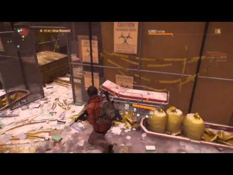Tom Clancy's The Division - Virus Research - Chelsea District lvl. 2-4