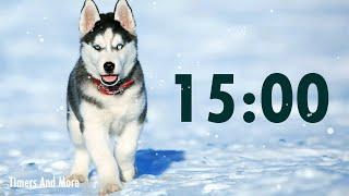 15 Minute Dog Timer  | Dog Barking Alarm