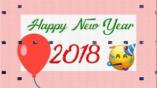 Happy New Year 2018 Wishes Quotes SMS Greetings Status Download