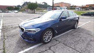 BMW Serie 5 520d 2017 - Tour, interior, maletero
