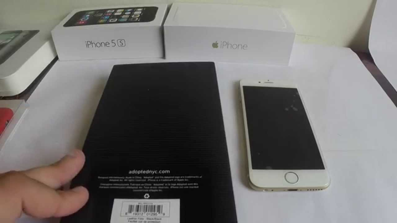 best service b32ca 68b66 Adopted Leather Folio Iphone 6 Review