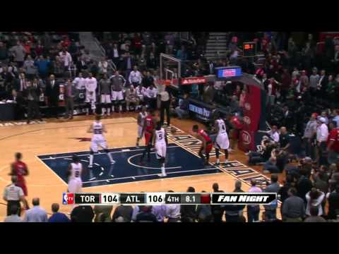 Toronto Raptors vs Atlanta Hawks | March 18, 2014 | NBA 2013-14 Season