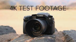 panasonic 25mm f1 7 with lumix g7 4k test footage   video photo test