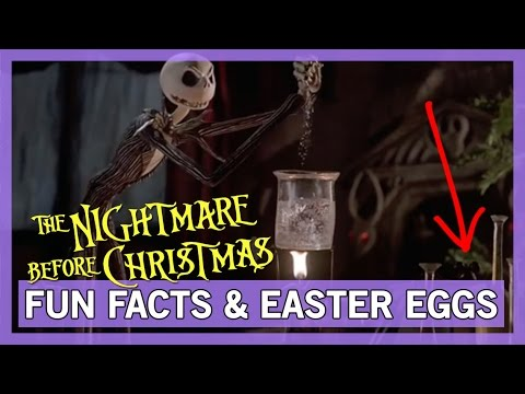 Fun Facts and Easter Eggs in Nightmare Before Christmas! - YouTube