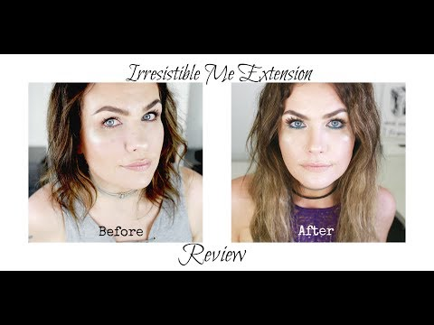 Tape In Extension Review |Irresistible Me Tape In Extensions|