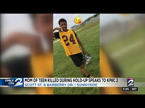 Houston Is Off The Chain!! Mom Of Teen Killed During Hold-Up Speaks Out