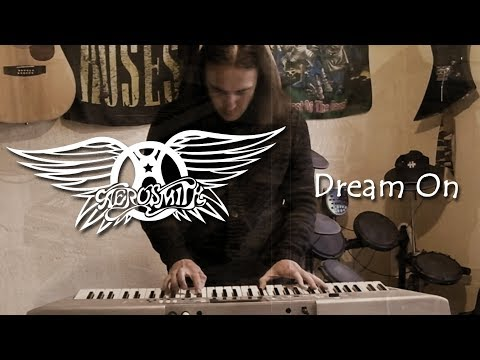 Aerosmith - Dream on piano cover (with vocals)