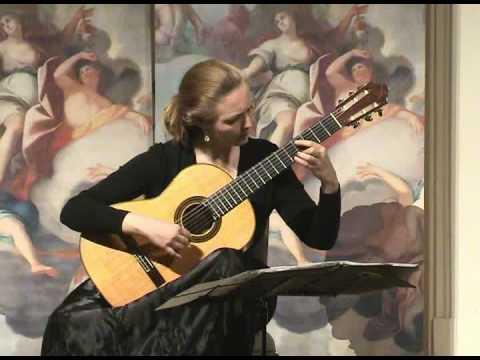 Chaconne Bach Heike Matthiesen part 1, classical guitar
