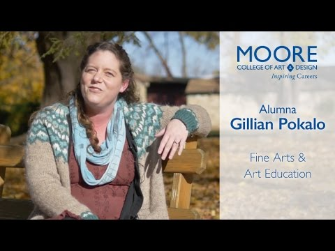 A Life of Art with Moore, Gillian Pokalo '05