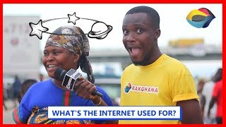 What's the INTERNET used for? [Street Quiz]