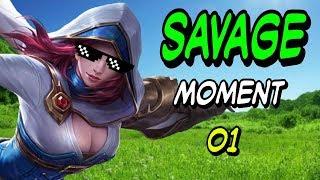 Mobile Legends : Savage 01 #Natalia