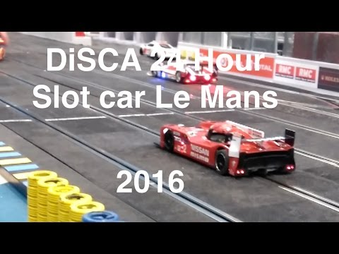 24 hour slot car Le Mans 2016: Teams and Technology