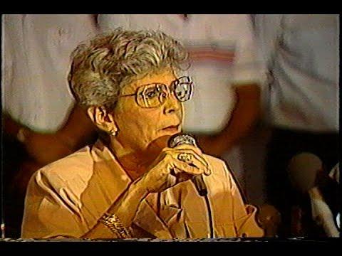 La transición de doña Violeta: A 25 años de las elecciones de 1990
