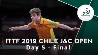 2019 ITTF Chile Junior & Cadet Open Day 5 final