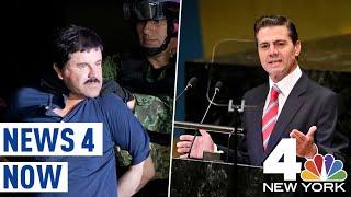 El Chapo Bribed Former Mexico President Nieto, Witness Claims  News 4 Now