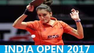 [TT India Open] 2017, BATRA manika (Long Pips) in Qualification match