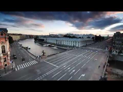 Красивое видео города Санкт-Петербург