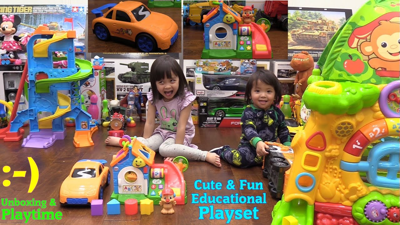 Educational Toys for Toddlers and Kids Fisher Price Laugh & Learn