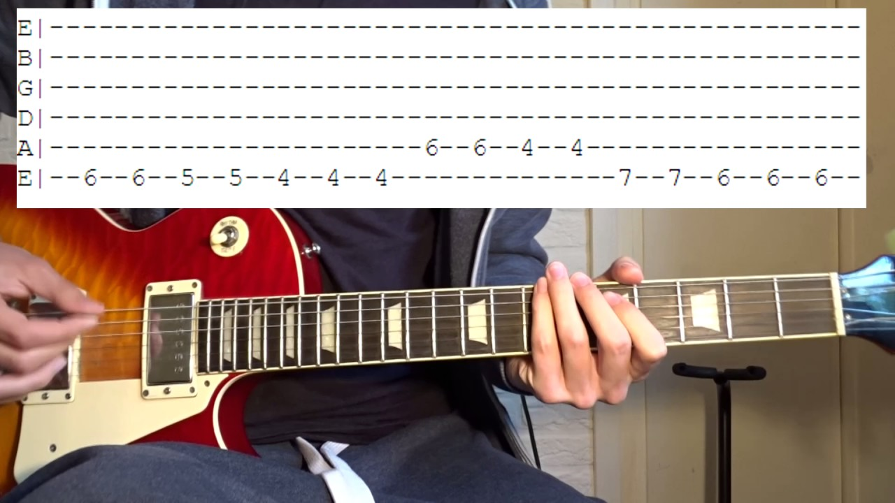 Steve Lacy Dark Red Guitar Lesson Youtube