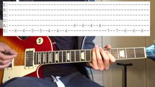 Steve Lacy - Dark Red Guitar Lesson
